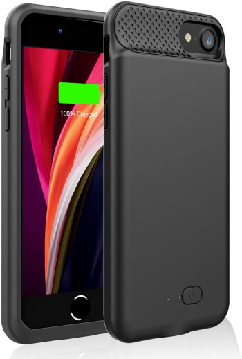 GIN FOXI Rechargeable Battery Case for iPhone SE