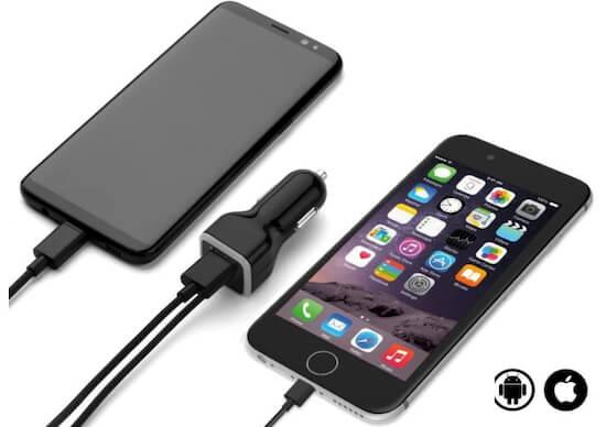 Автомобильное зарядное устройство Gembonics для iPhone [iPhone SE 2020]