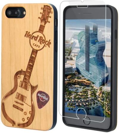 Guitar Print Case for iPhone SE 2nd Gen