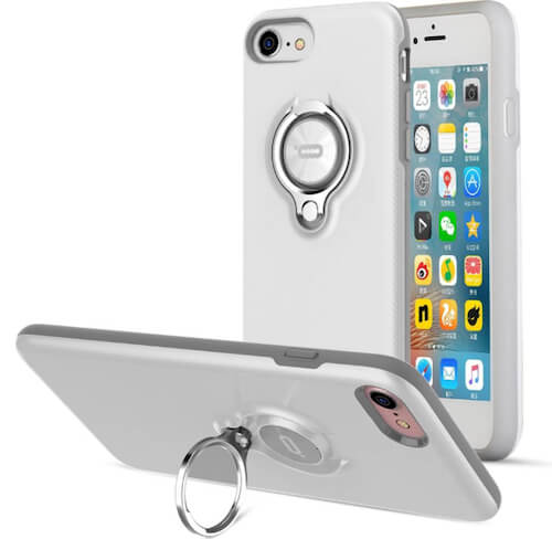 ICONFLANG iPhone SE 2020 Ring Holder Case