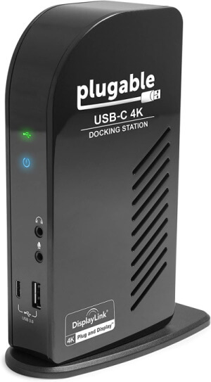 Plugable USB-C 4K Triple Display Docking Station