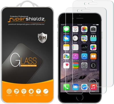 Supershieldz iPhone SE 2020 Screen Protector [2-Pack]
