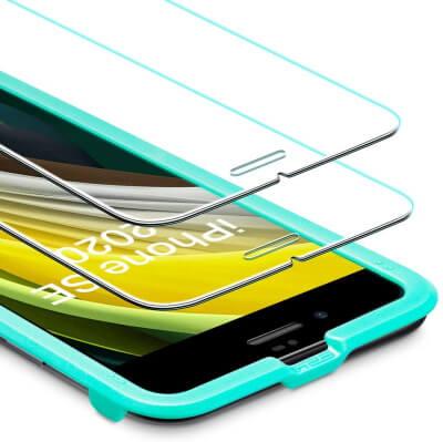 Защитная пленка из закаленного стекла для iPhone SE 2
