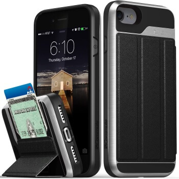 Vena Wallet Case with Kickstand for iPhone SE 2020