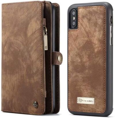 Zipper Flip Wallet Case