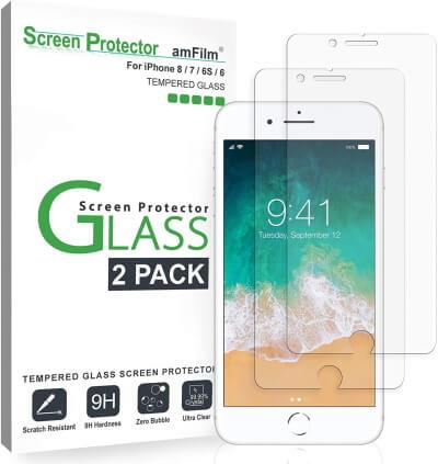 Защитное стекло amFilm для экрана [2-Pack]