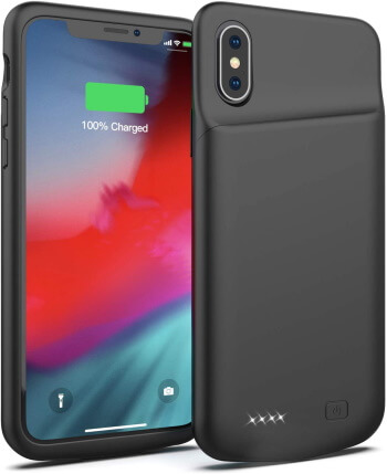 iPhone X Battery Case by Smiphee