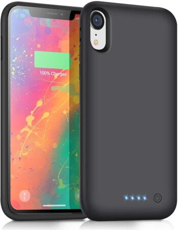 voo iPhone XR Backgroud Battery Case