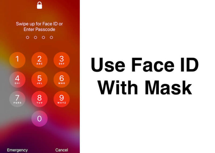How to use Face ID with mask on iPhone