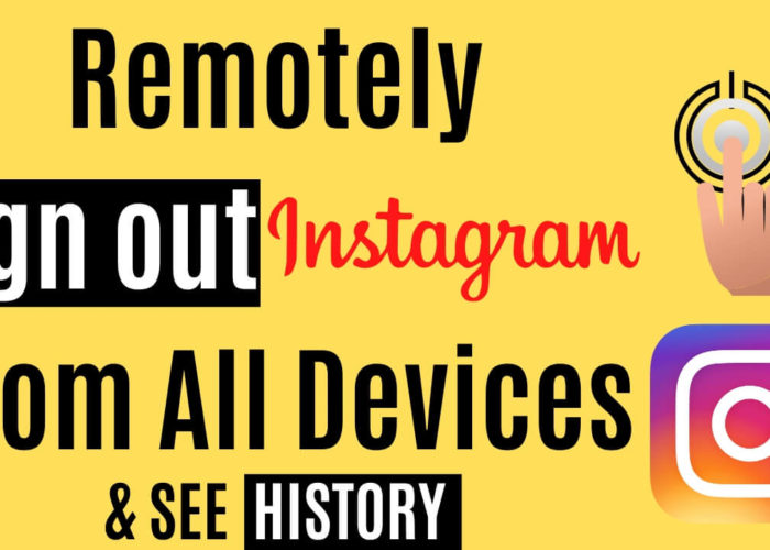 Remotely Sign out Instagram Login From All Devices on iPhone, Pad
