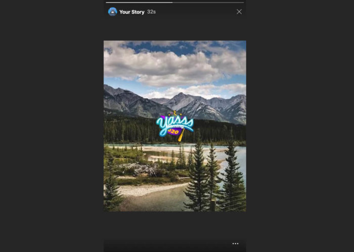 Tap on Your Instagram Story to view on Safari Mac