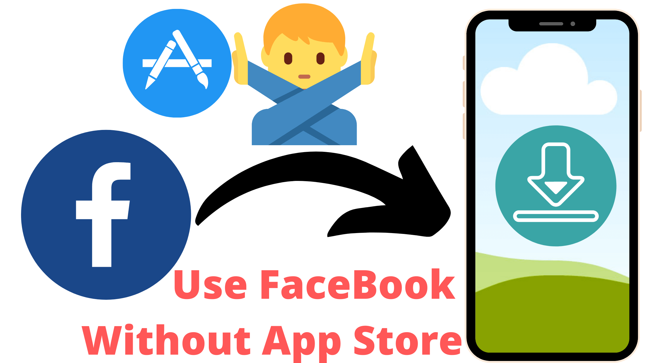Use FaceBook Without App Store