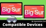 macOS Big Sur Compatible Devices list of 2020