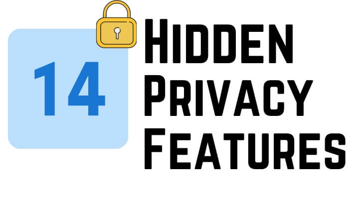 hidden Privacy Features on iPhone and iPad