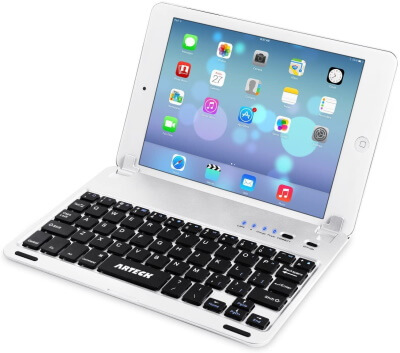 Arteck Ultra-Thin Bluetooth Keyboard Folio