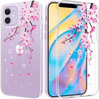 Caka Blossom Clear Soft Case