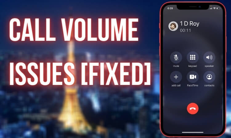 Call Volume issues fix on iPhone 12 models