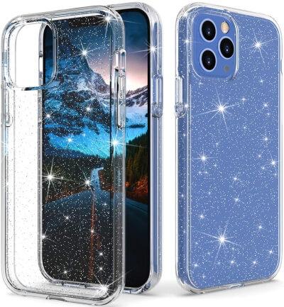 Thinkart Glitter Clear Case