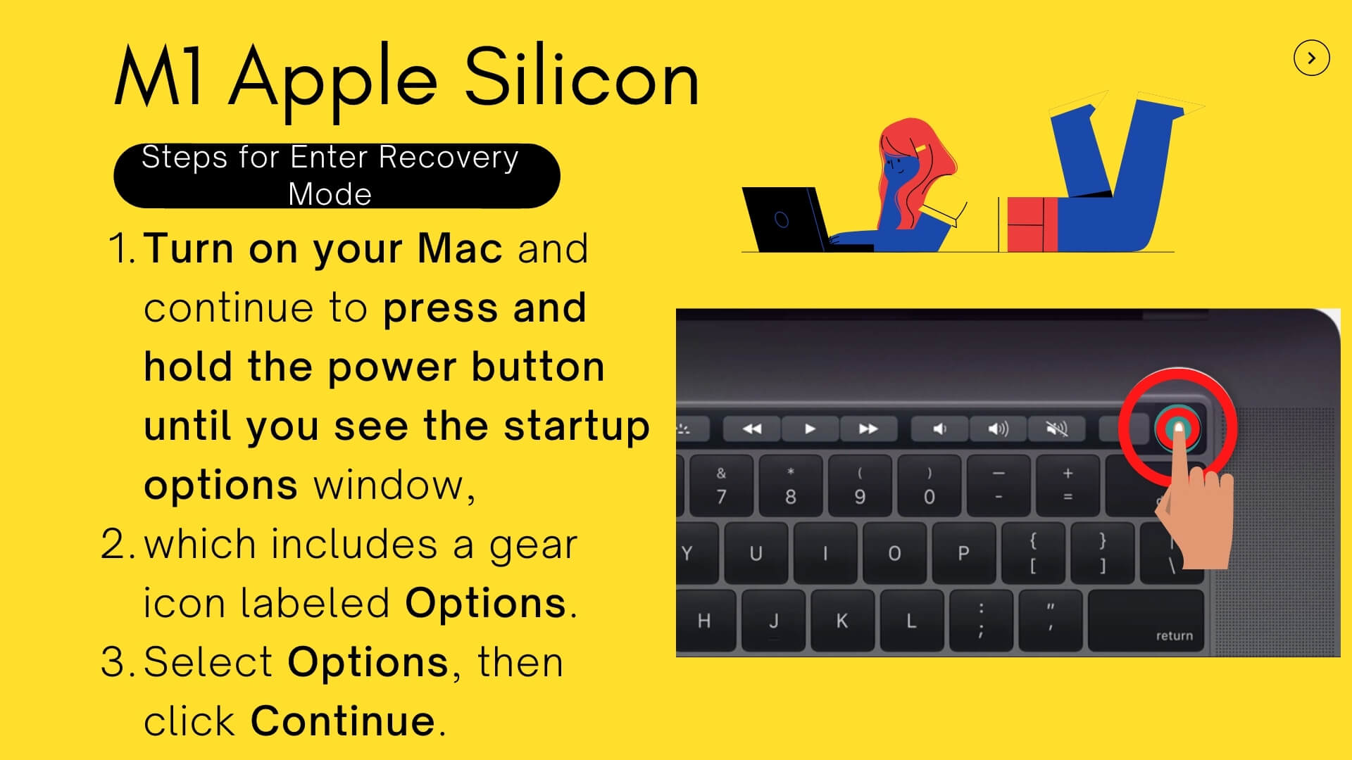 M1 Apple Silicon Recovery Mode