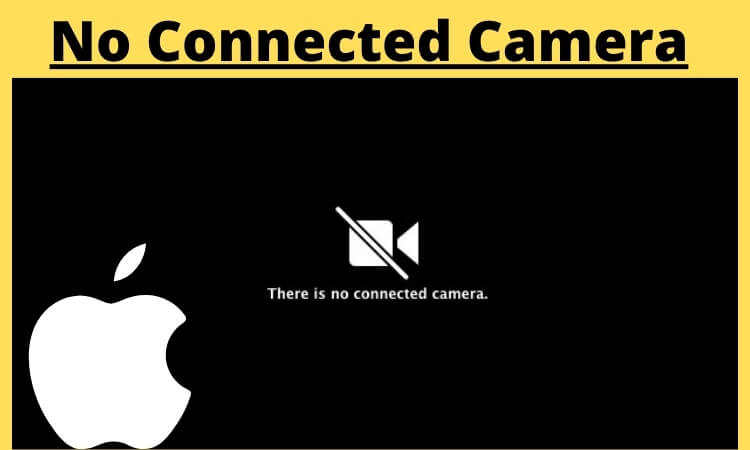 No Connected Camera on Mac