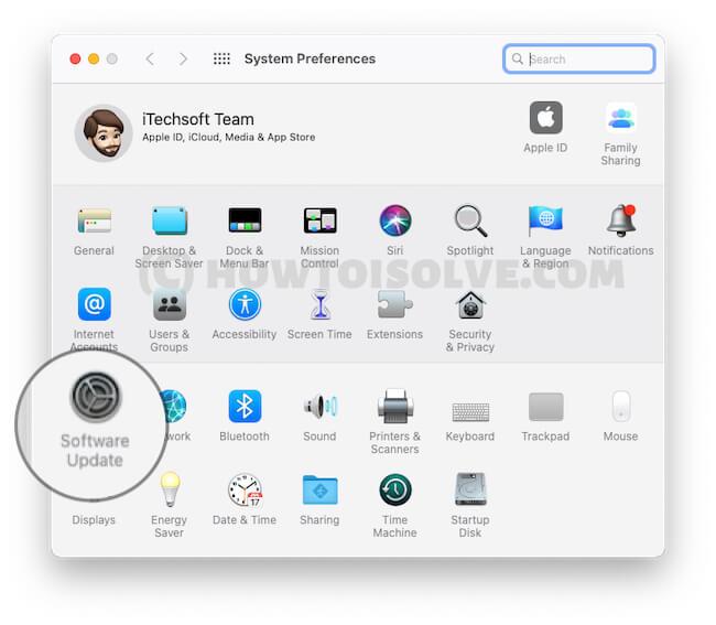 Обновление программного обеспечения на Mac и MacBook