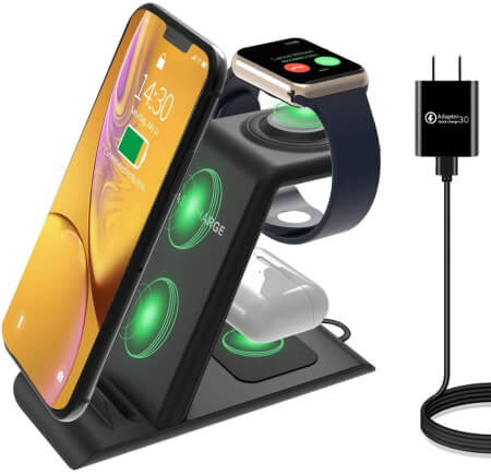 HATALKIN 3-in-1 Charging Station