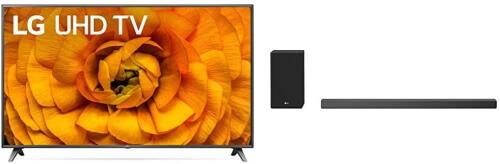 LG Smart TV with Soundbar