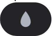 Water lock icon on Apple Watch in control center