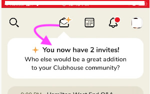 New Clubhouse Invites to use for invite