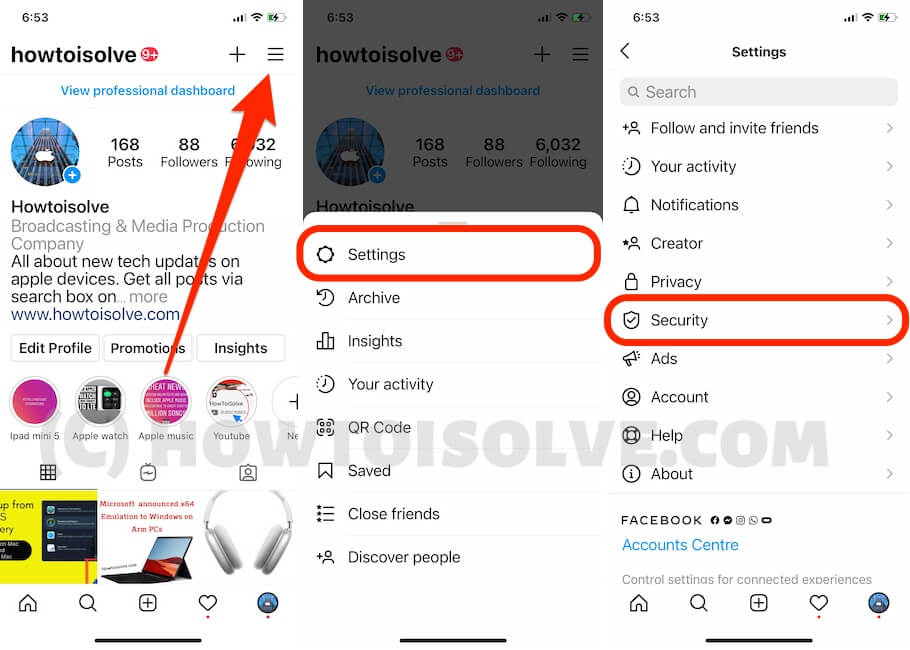 Remove Clubhouse account from Instagram account on app