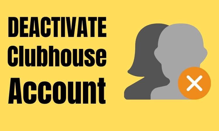 Most platforms like Facebook, Twitter, Clubhouse, and so on give their users the choice to deactivate their accounts or on the off chance that they ca