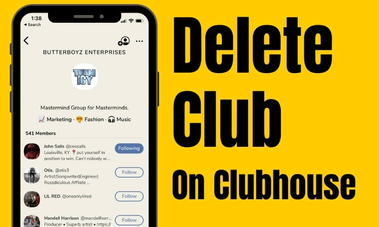 Follow this article to Manage your Club on the clubhouse social app, Drop-in audio app. The clubhouse app functionality is effortless and straightforw